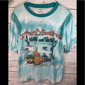 Hand Painted Indian Shirt